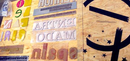 Arcangela Regis EINA Tipografia