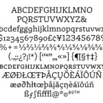 Tipografia Laski Master EINA