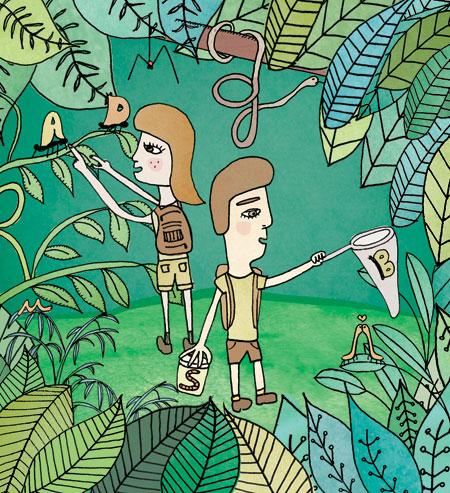 Il·lustració de MJ Rivero per la UAB